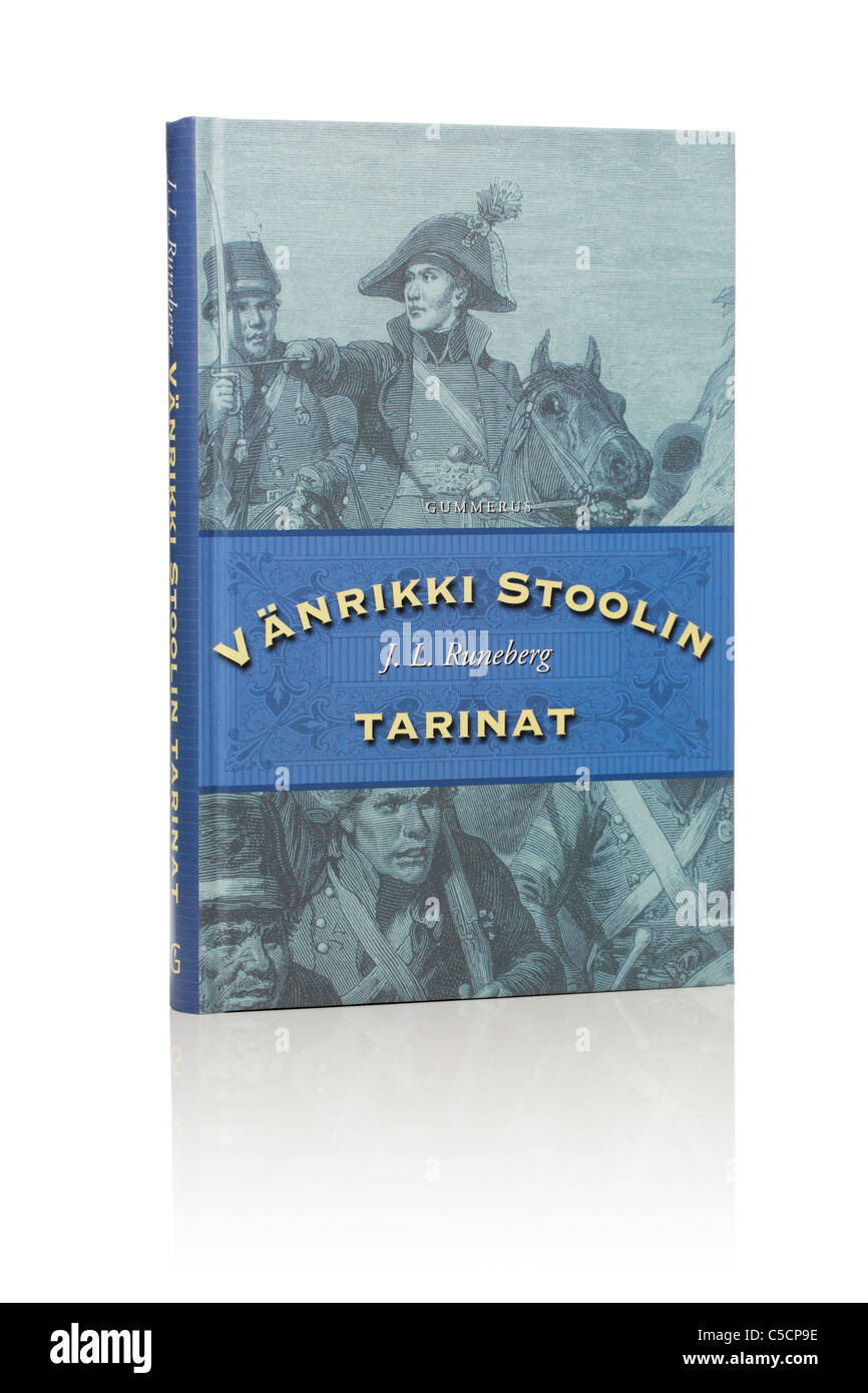 The Tales of Ensign Stål book. - Stock Image