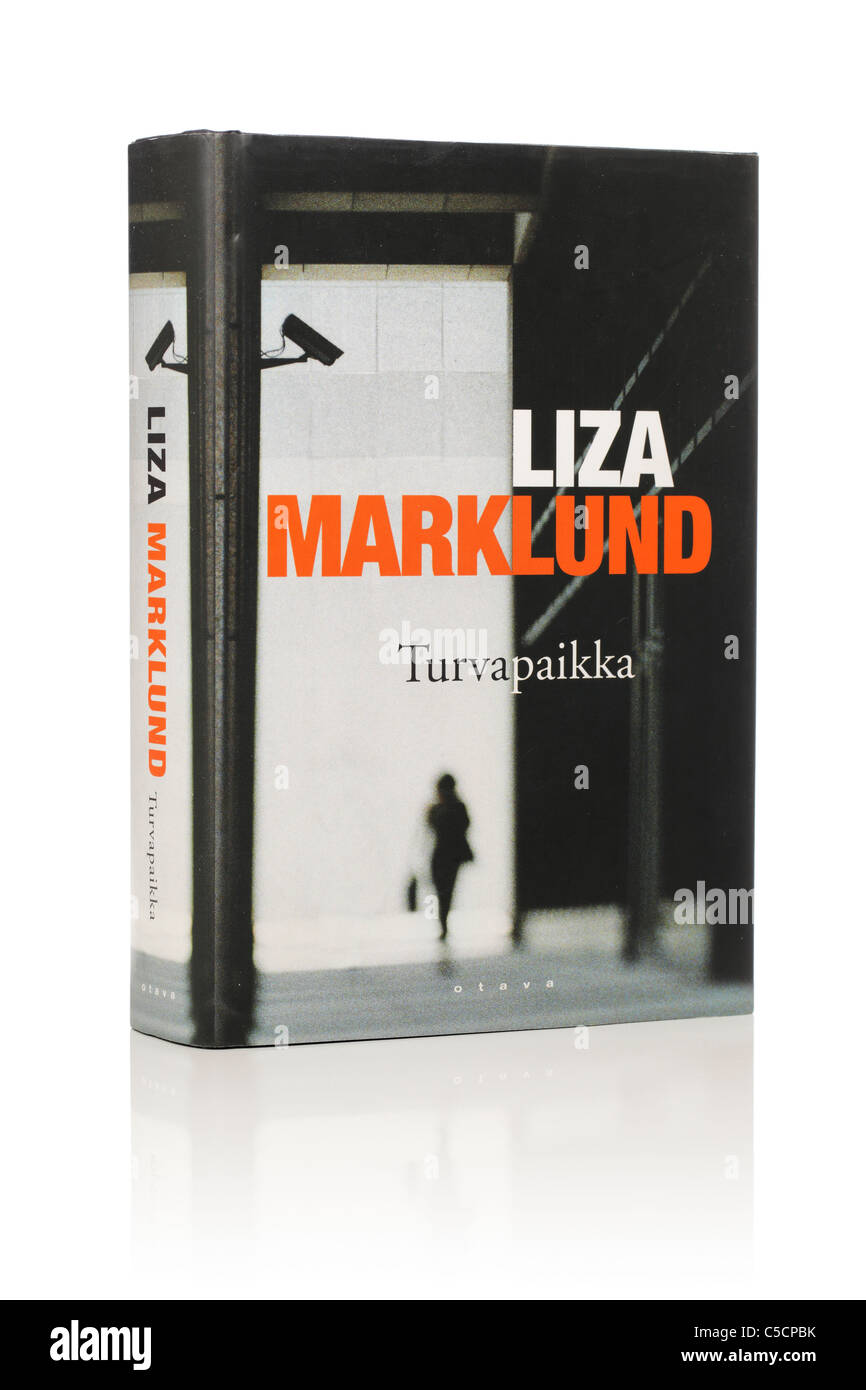 Liza Marklund's Novel 'Asyl'. Here in Finnish edition from 2004. - Stock Image