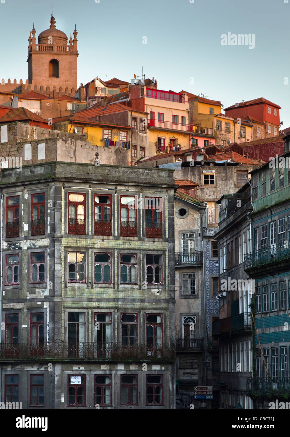 Buildings of Porto, Portugal - Stock Image