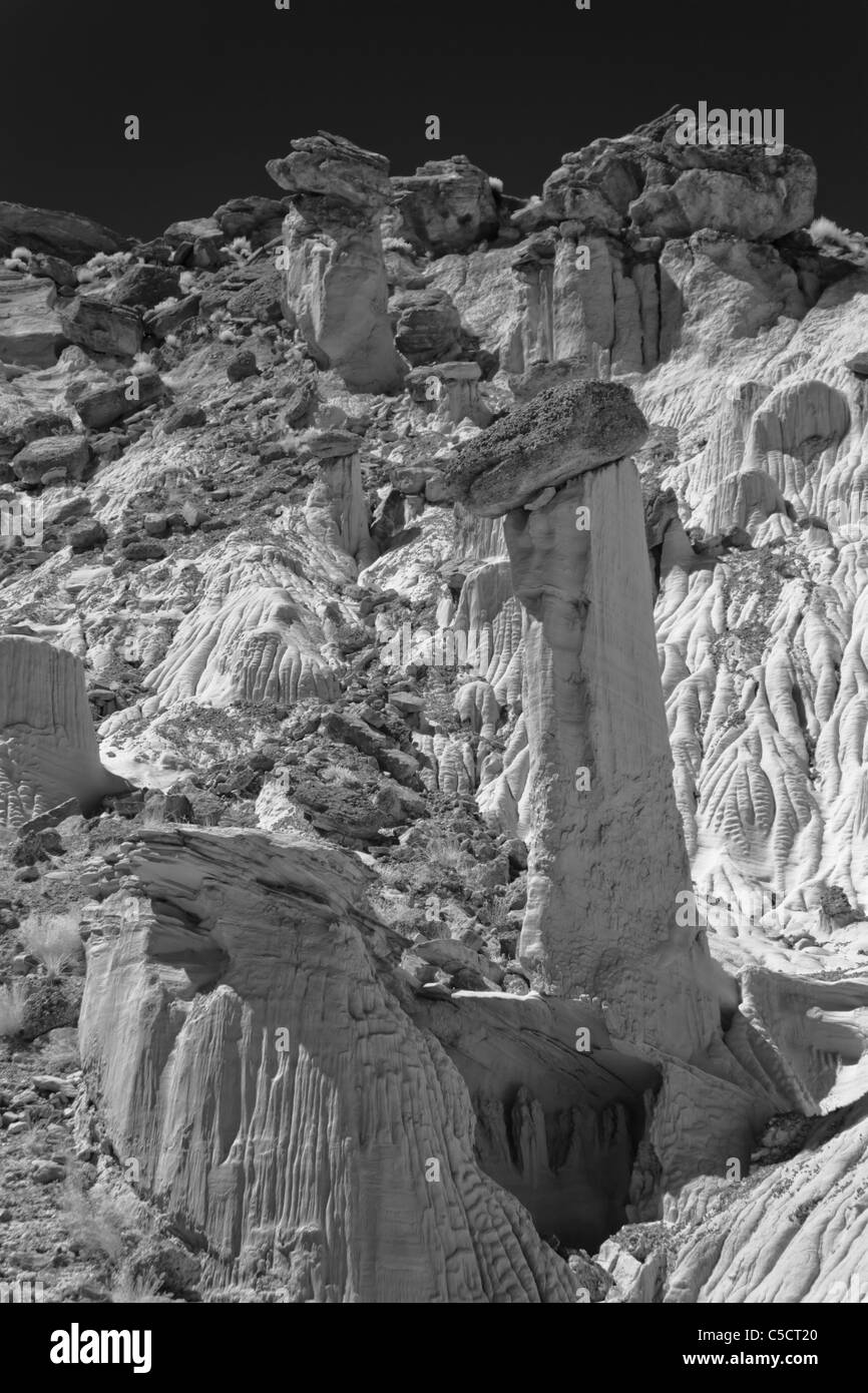 Wahweap Hoodoos, Grand Staircase-Escalante National Monument Stock Photo