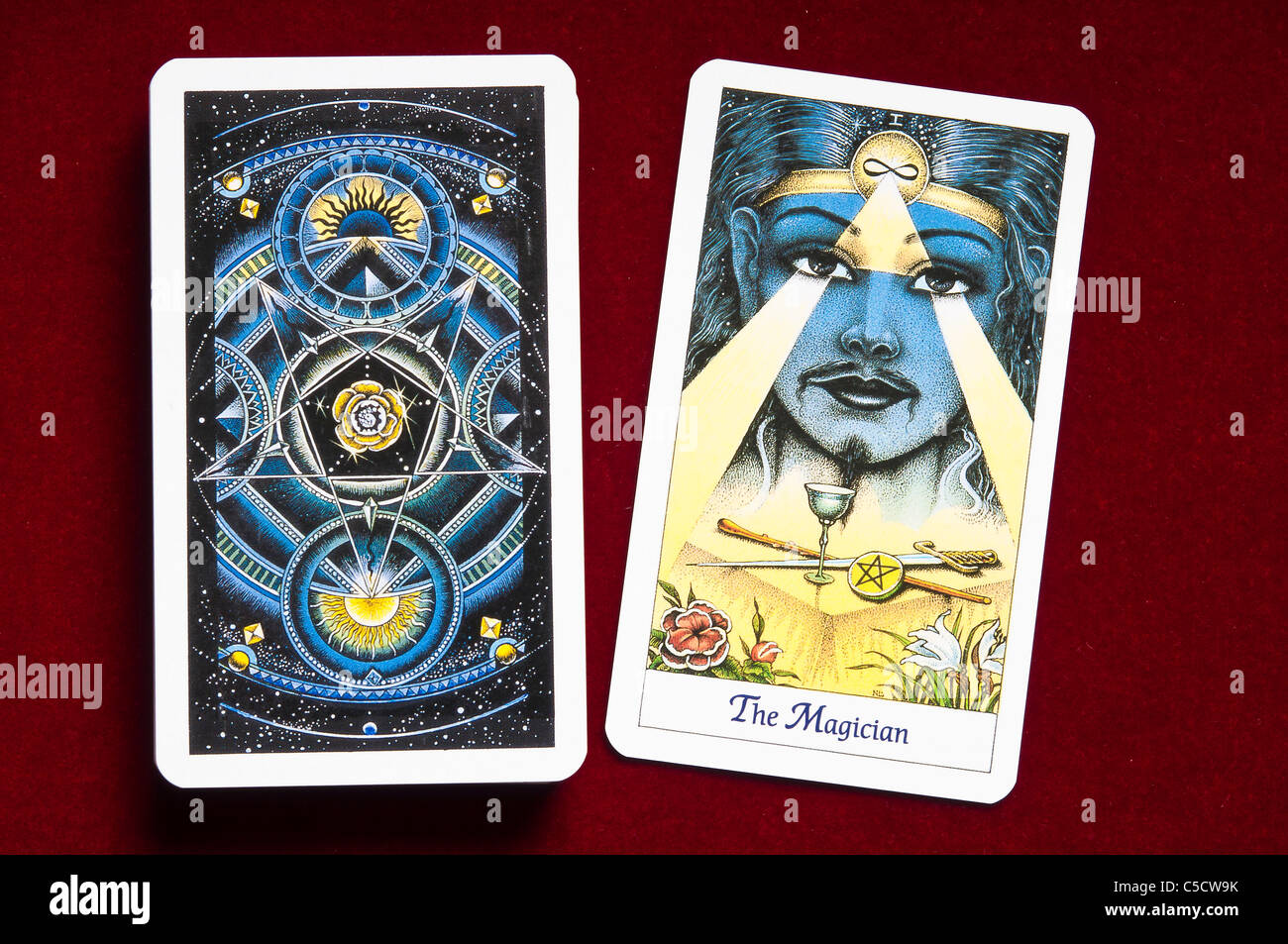 Magician Tarot Stock Photos & Magician Tarot Stock Images - Alamy