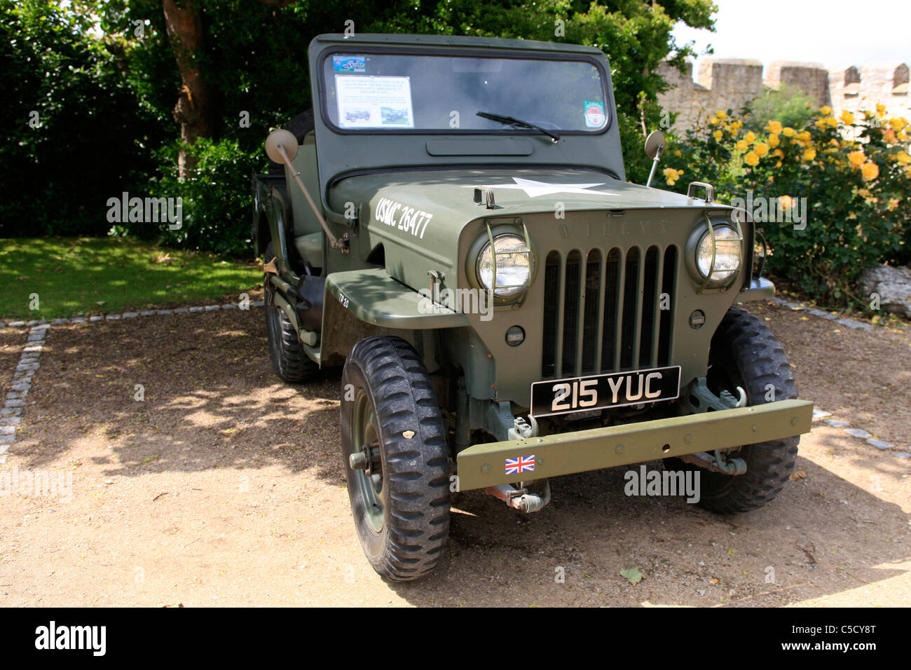 Vietnam Era Willys Jeep Hi Hood Stock Photo Alamy