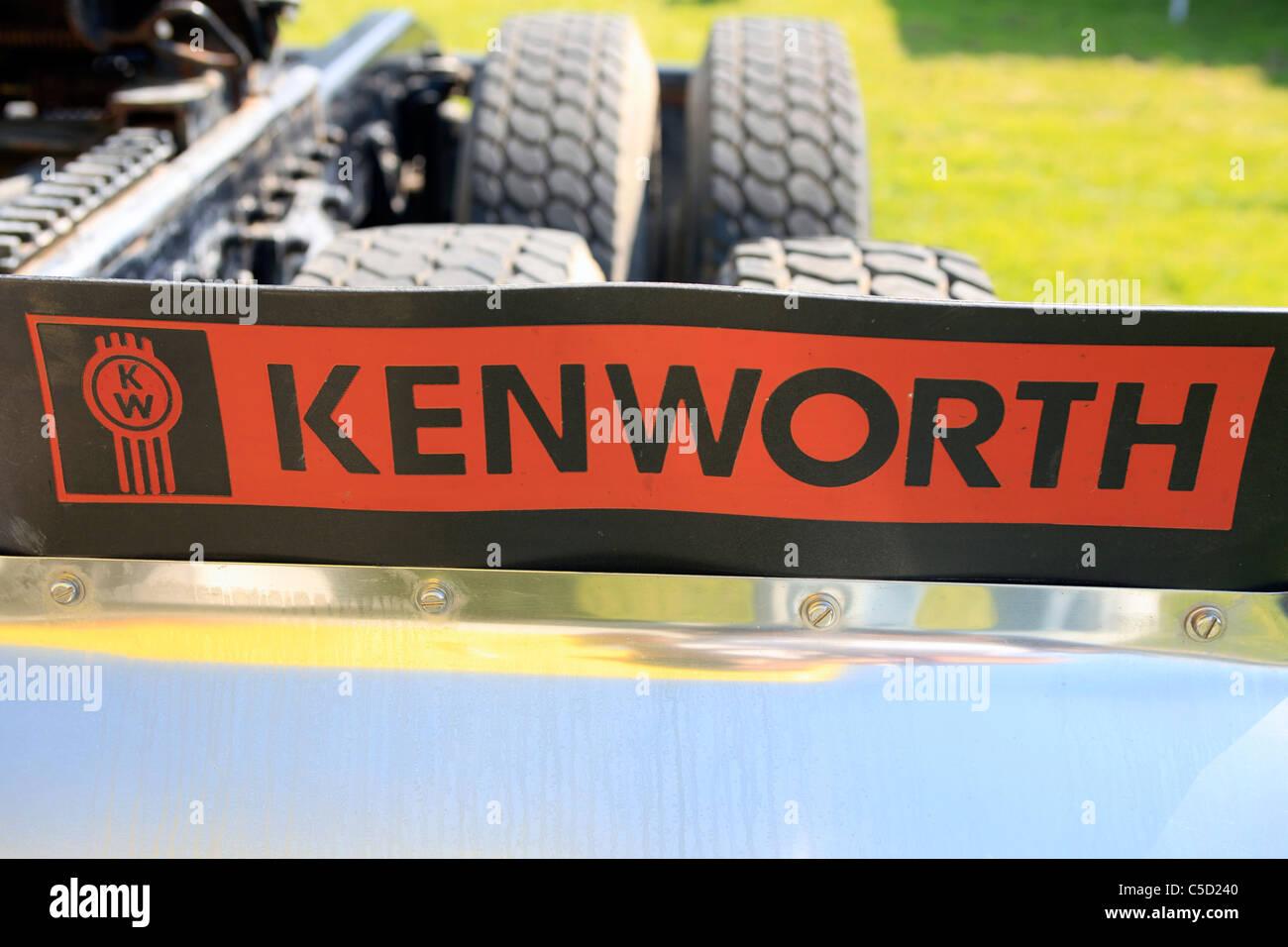 Kenworth Vehicle Logo - Stock Image