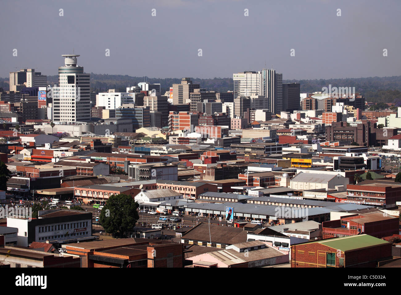The heart of Zimbabwe - the capital of Harare 66