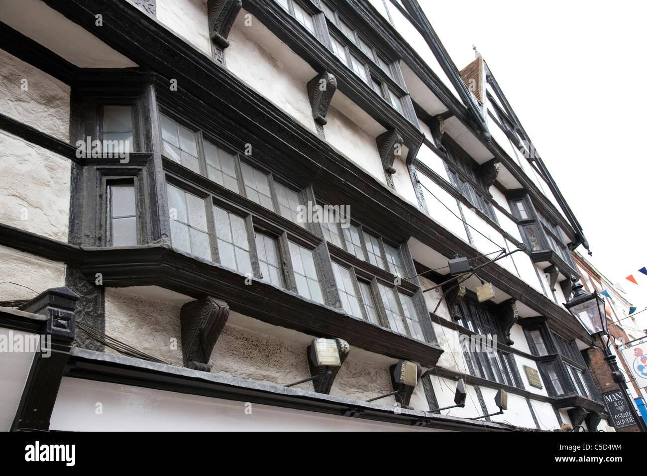 Rochester Tudor Architecture - Stock Image