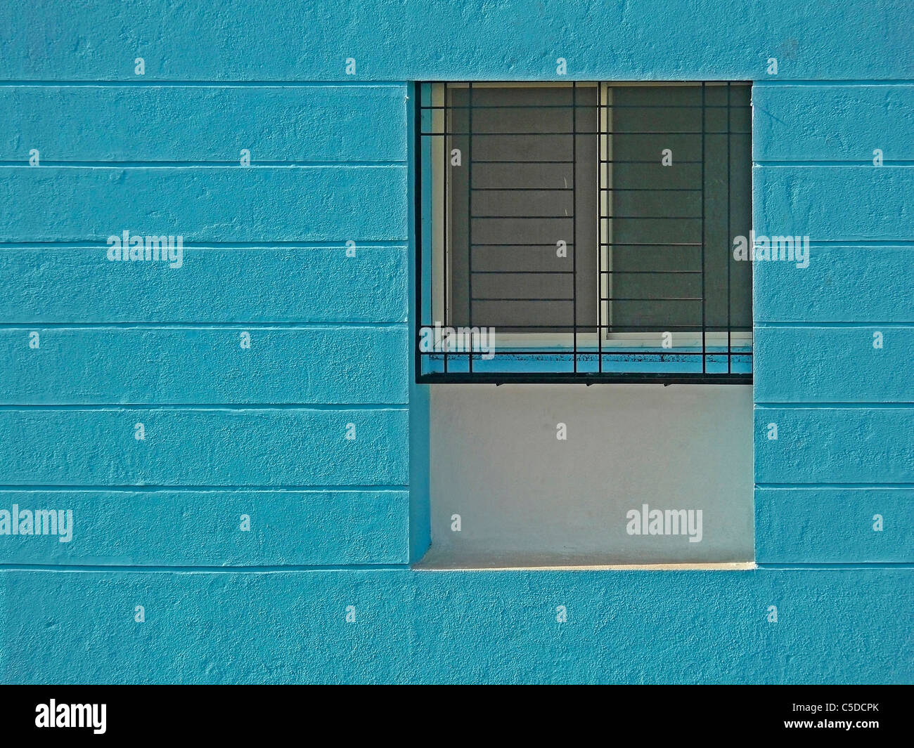Close up of a newly constructed building - Stock Image
