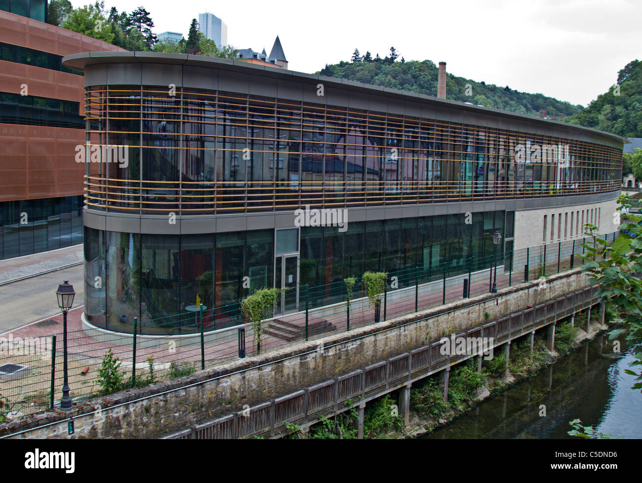Global corporate headquarters of SKYPE Luxembourg - Stock Image