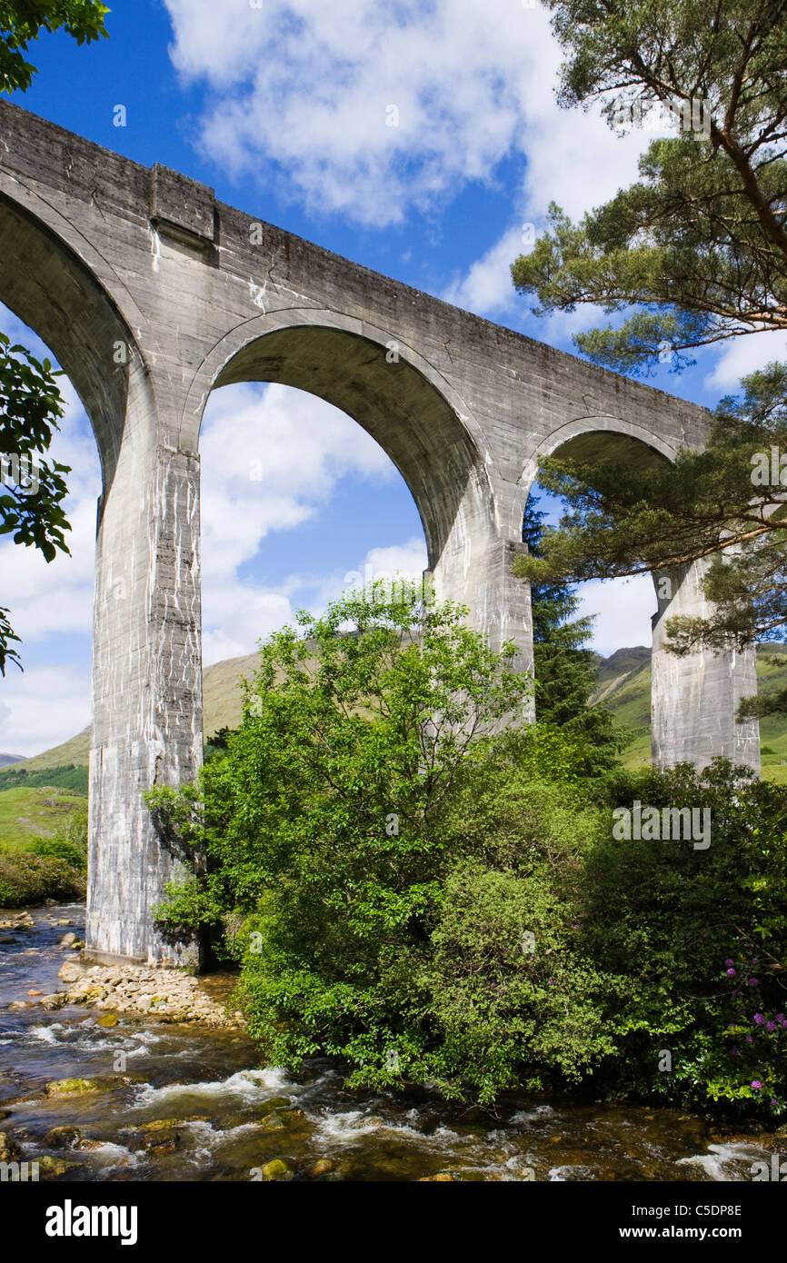 Glenfinnan Viaduct, Highland, Scotland, UK. - Stock Image