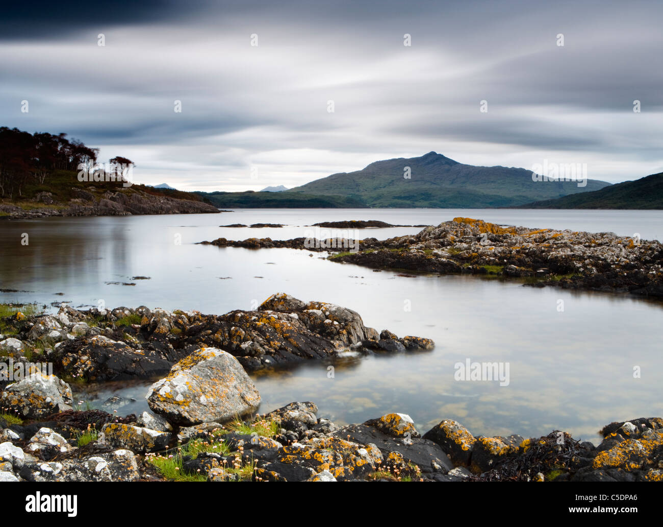 Loch Sunart near Salen, Highland, Scotland, UK Stock Photo