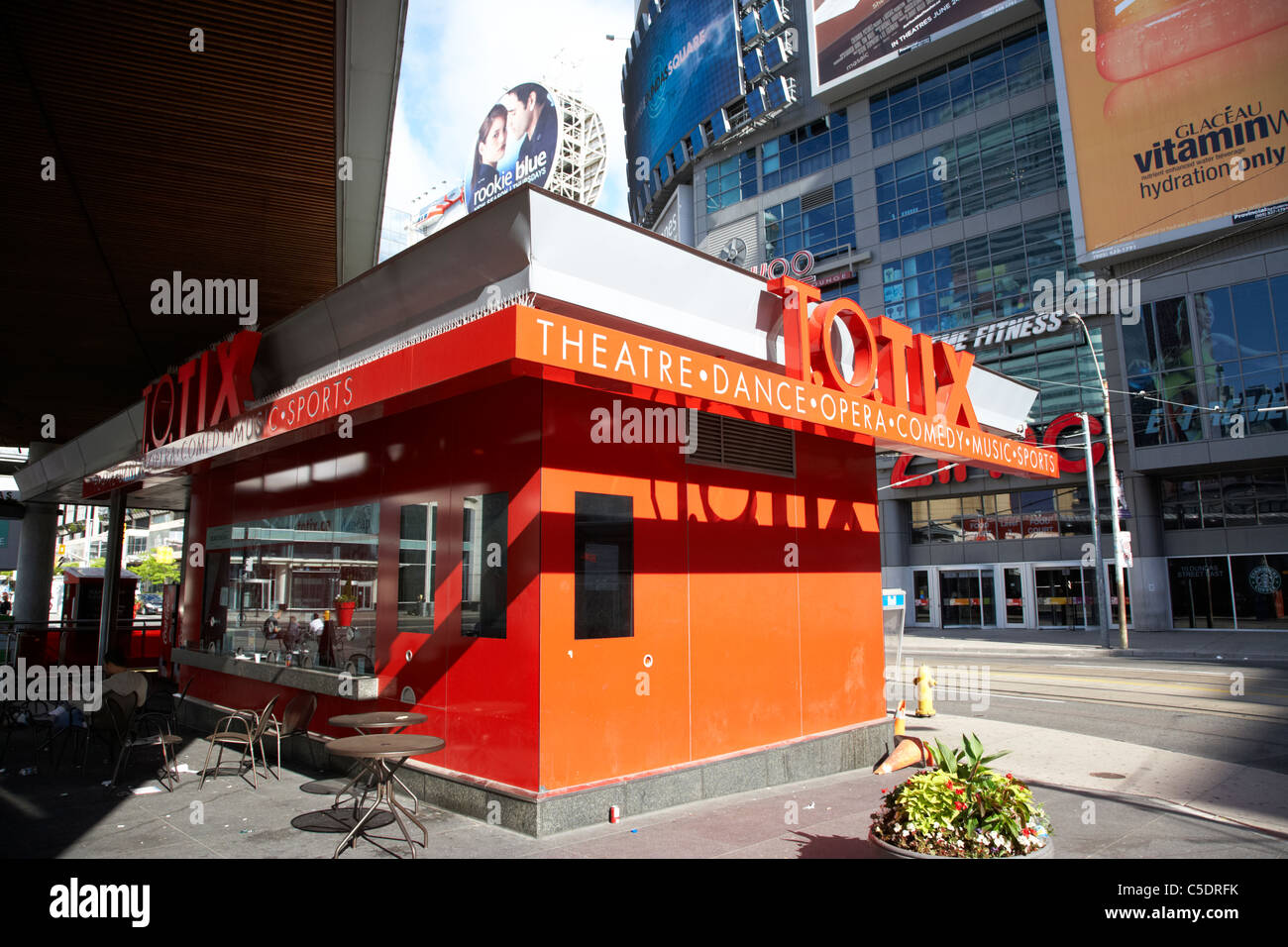 totix toronto official ticket shop yonge-dundas square ontario canada - Stock Image