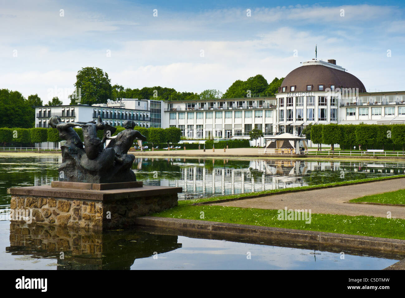 statue four seasons summer at hollersee and parkhotel bremen stock photo 37798793 alamy. Black Bedroom Furniture Sets. Home Design Ideas