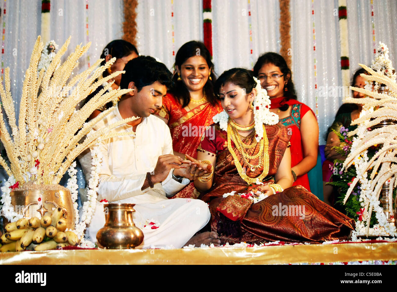 Indian Marriage Stock Photos Indian Marriage Stock Images Alamy
