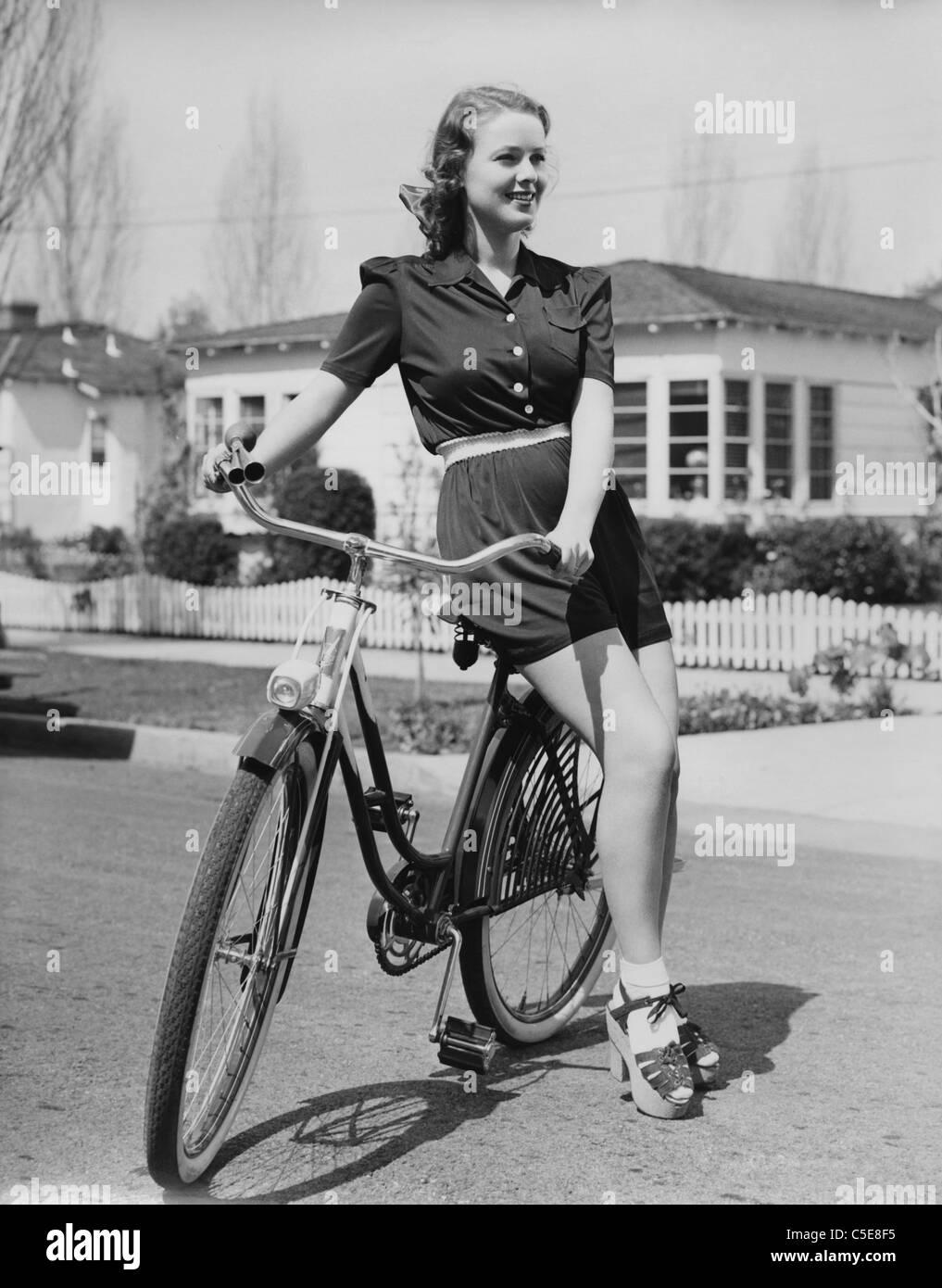 Bike riding - Stock Image