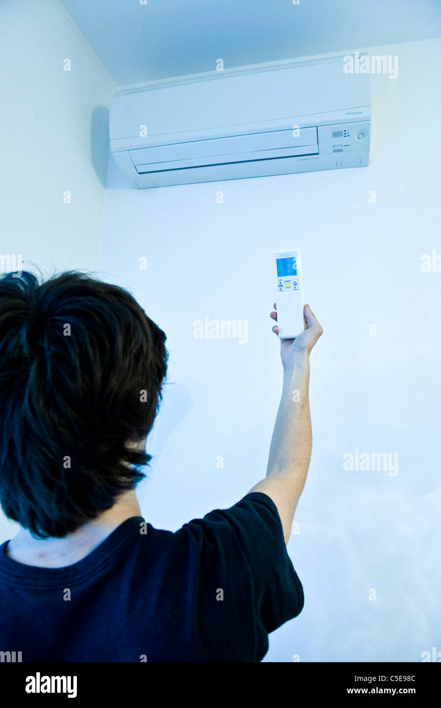 air condition - Stock Image