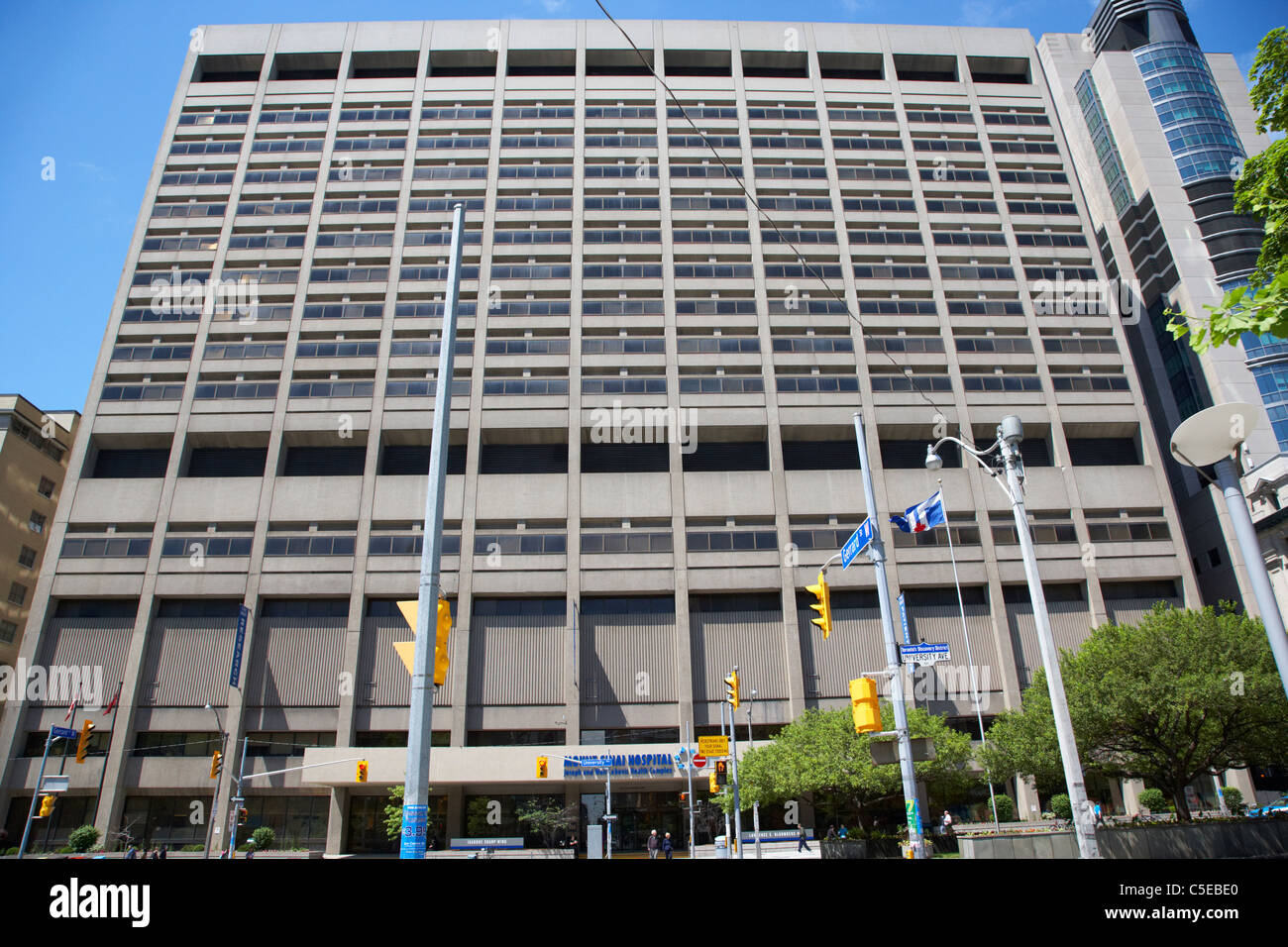 mount sinai hospital joseph and wolf lebovic health complex toronto ontario canada - Stock Image