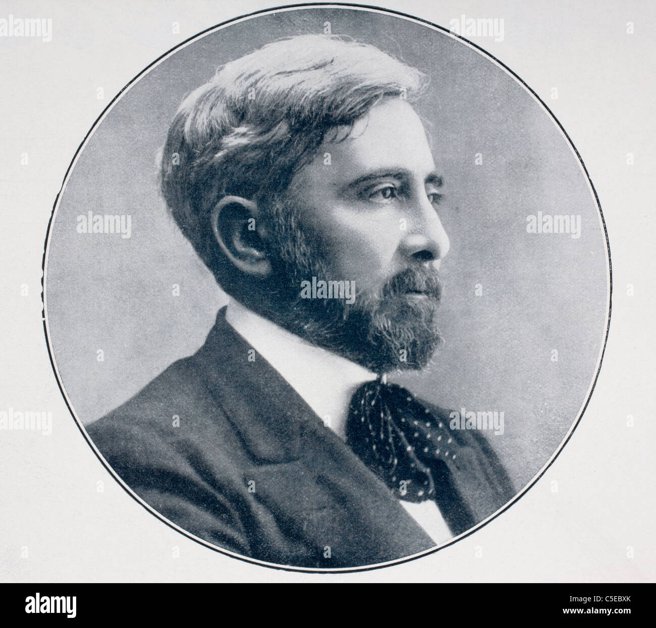 Arturo Reyes Aguilar, 1864 - 1913. Spanish poet and journalist. - Stock Image