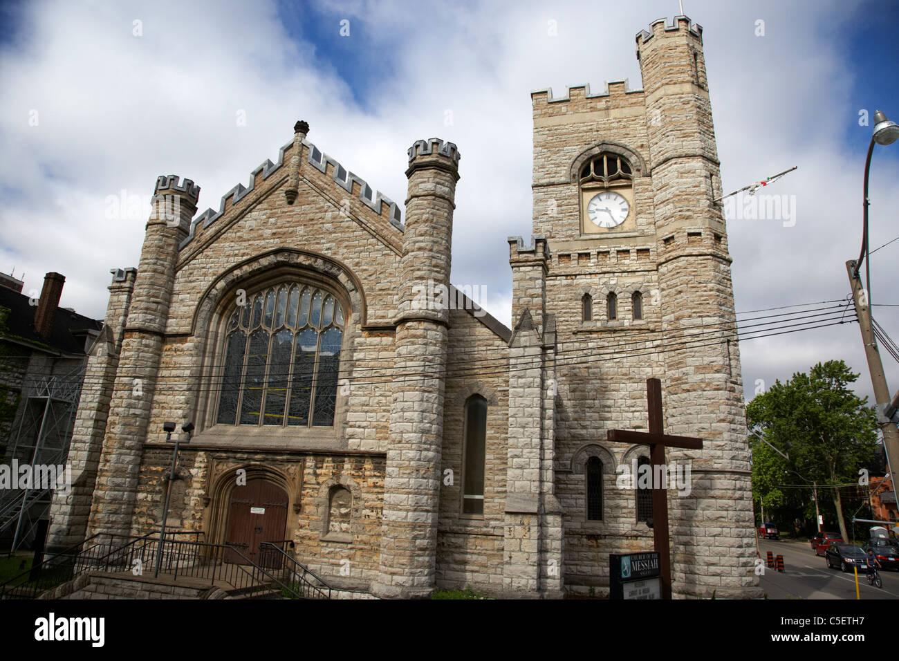 church of the messiah anglican church toronto ontario canada - Stock Image
