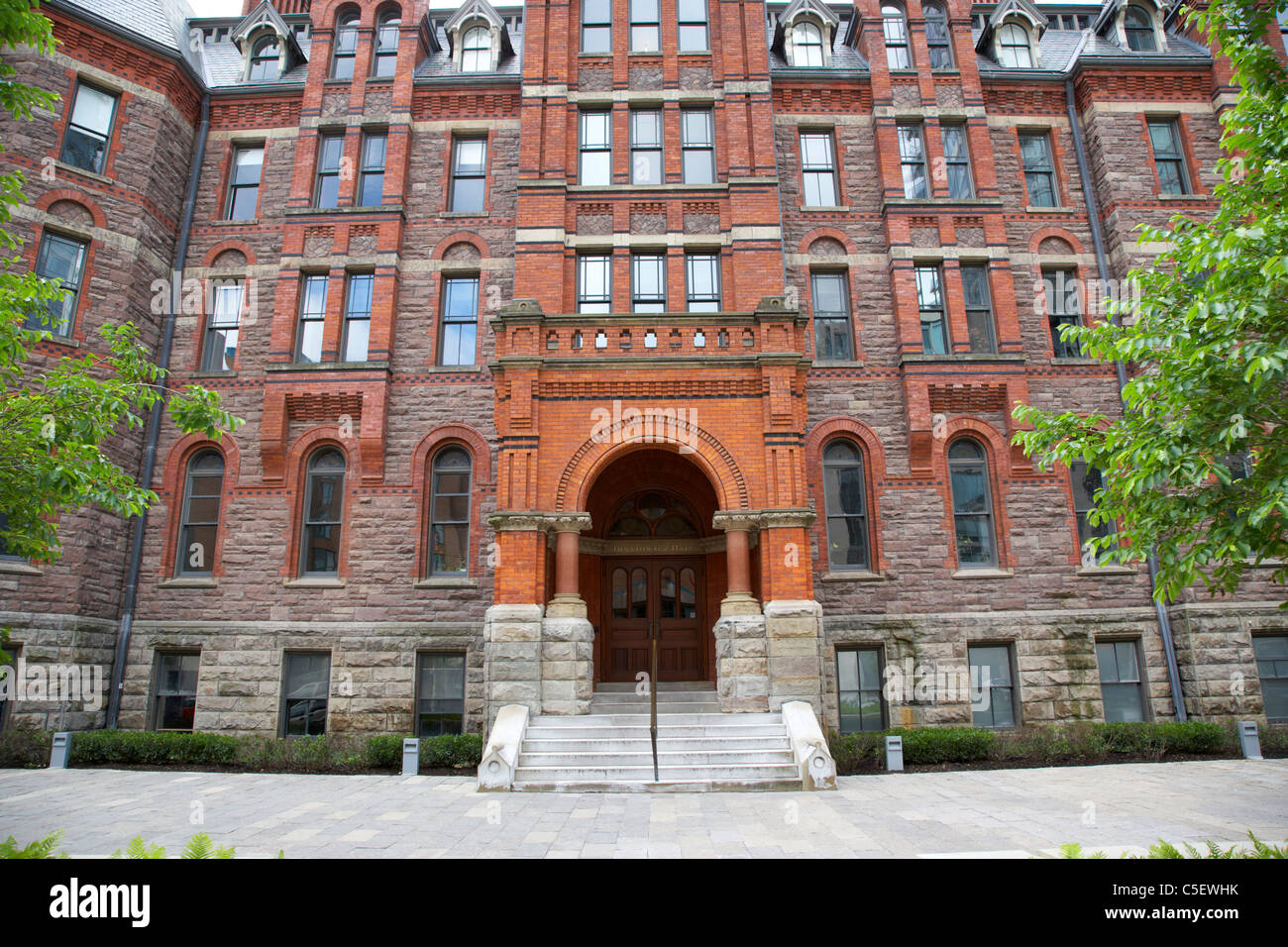 royal conservatory of music historic ihnatowycz hall RCMT toronto ontario canada - Stock Image