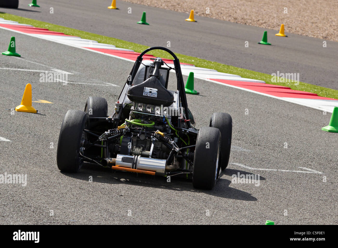 Formula Student Racing Car Motorsport At Silverstone Stock Photo ...