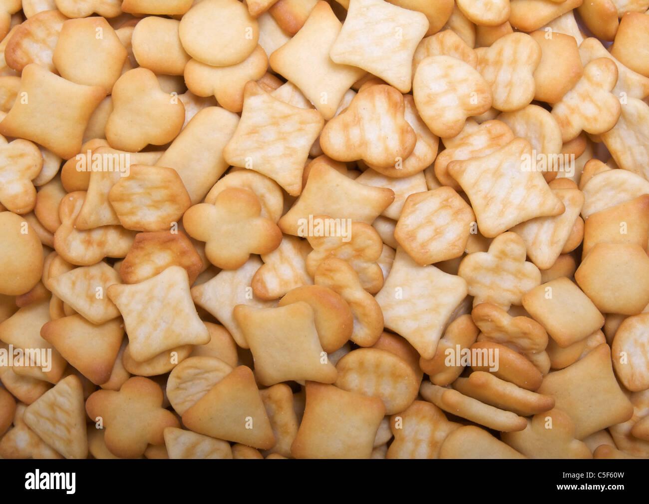 Cheese savouries - Stock Image