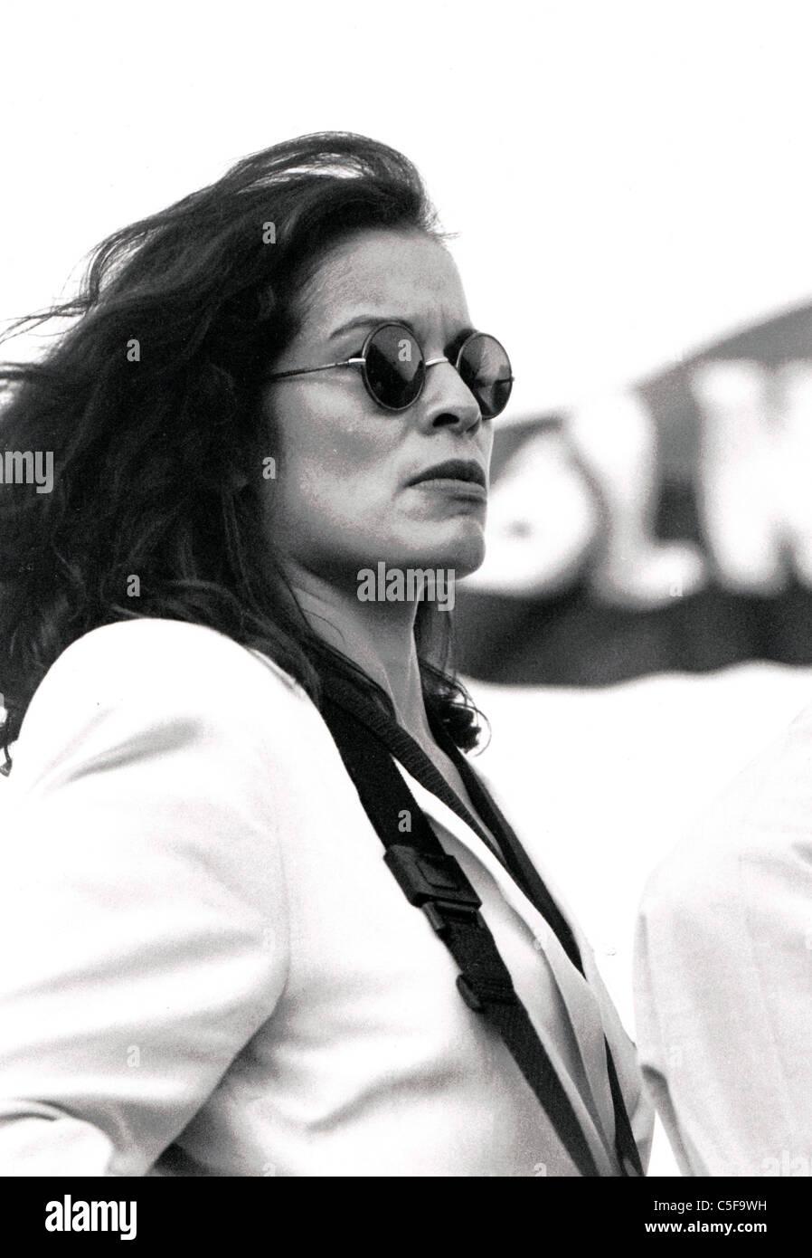 Ms. Bianca Jagger, Rolling Stone Mick Jagger ex-partner and humanitarian ambassador - Stock Image