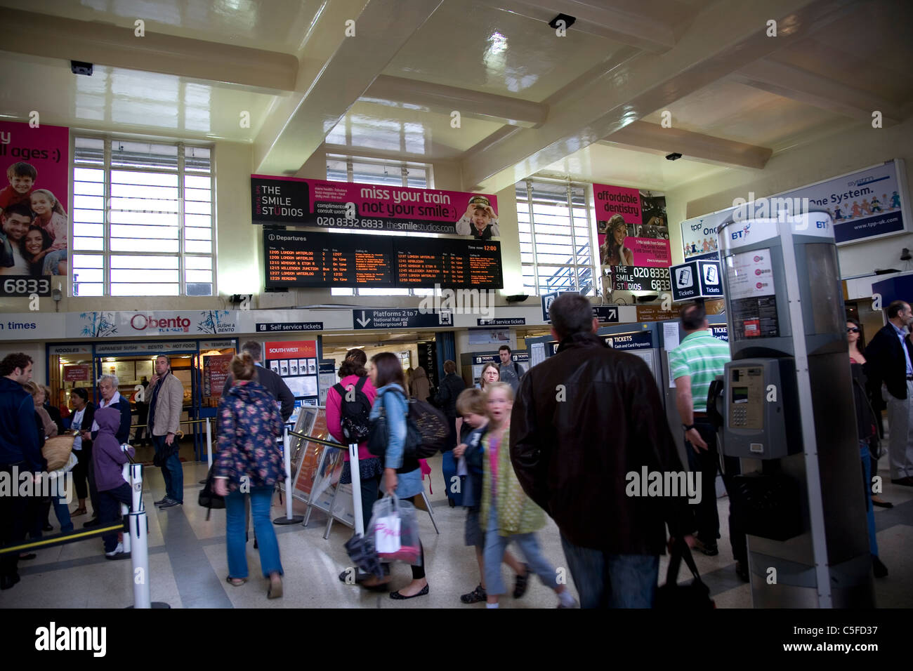Richmond Train Station - Stock Image