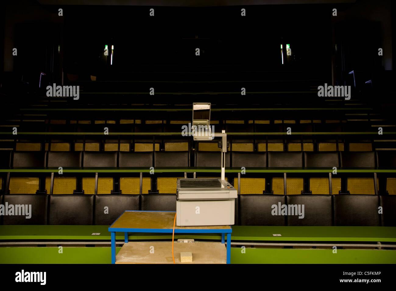 University Lecture Theatre - Stock Image