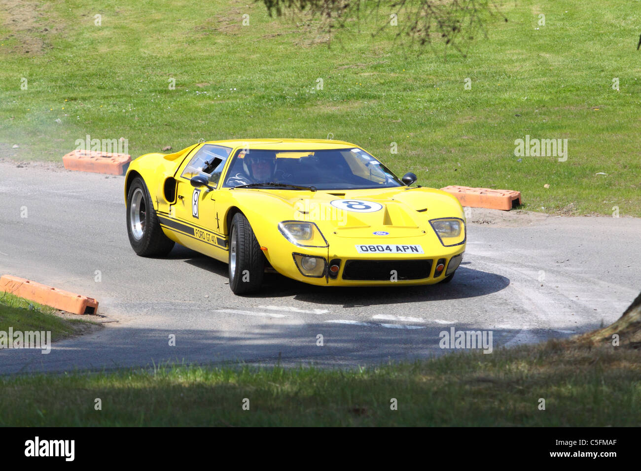 Ford Gt Replica At The Cultra Hillclimb Northern Ireland Stock Image