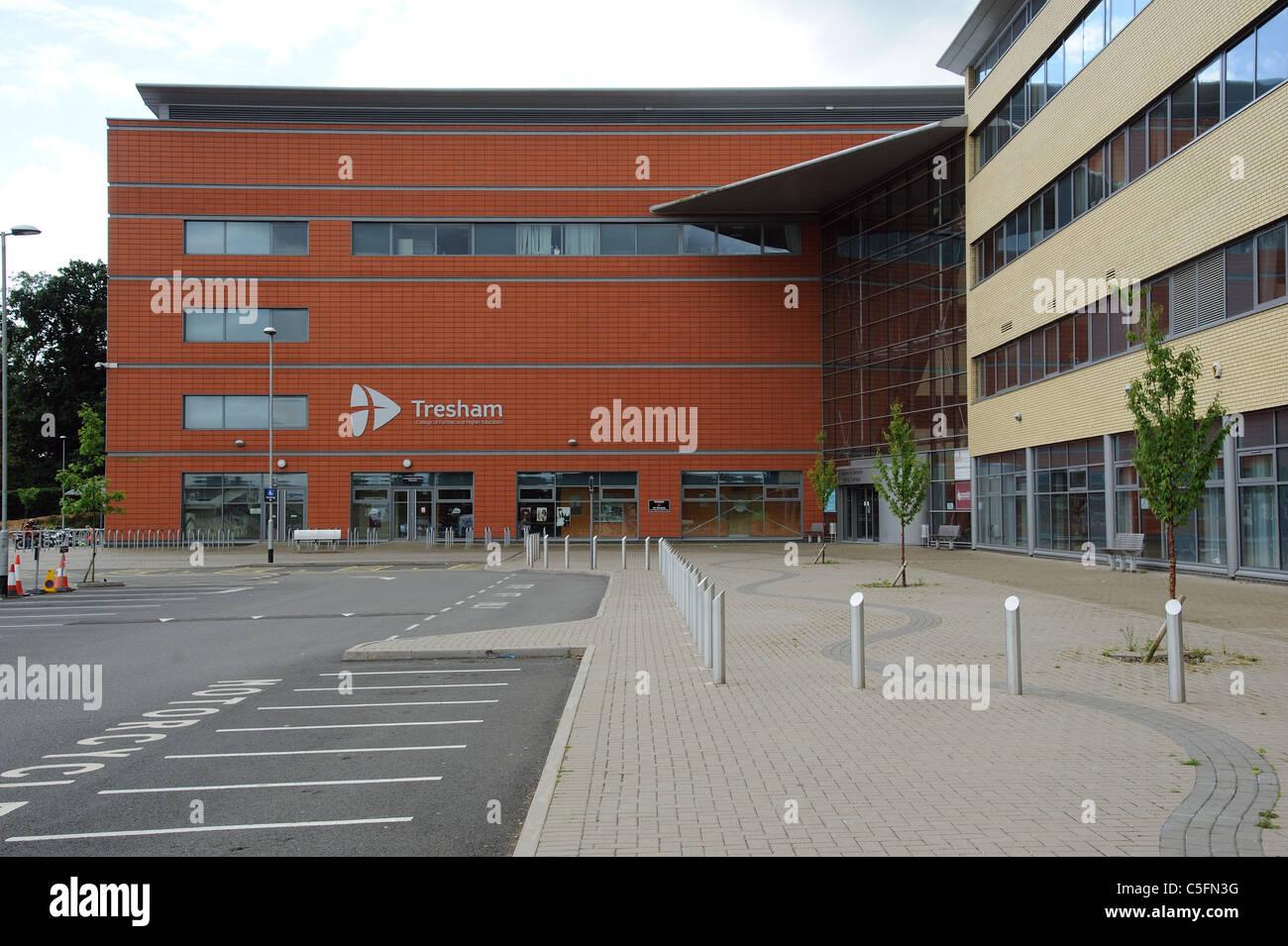 Tresham College of Further & Higher Education Kettering Northamptonshire England UK - Stock Image