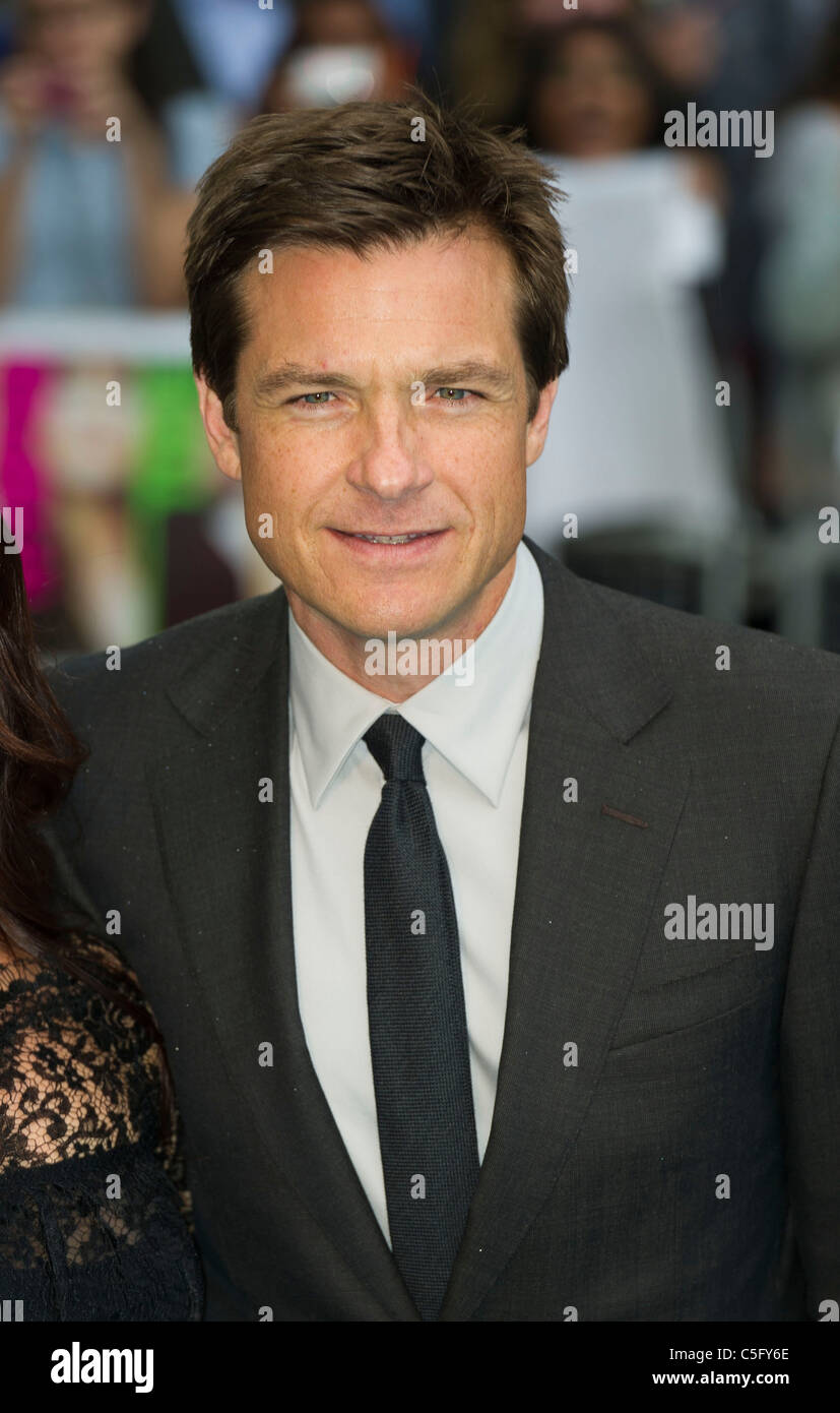 Jason Bateman attends the UK premiere of 'Horrible Bosses' at BFI Southbank on July 20, 2011 in London, - Stock Image