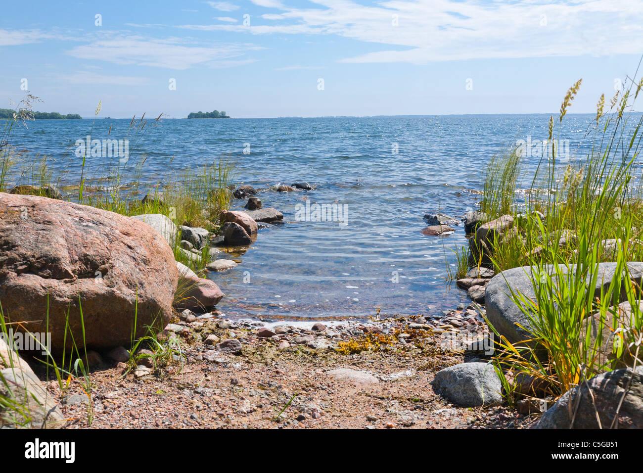 Archipelago of Stockholm, Sweden. - Stock Image