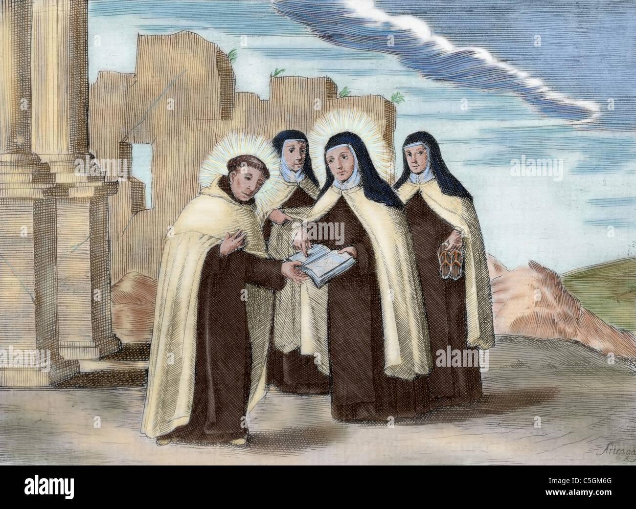 Discalced Carmelite Stock Photos & Discalced Carmelite Stock
