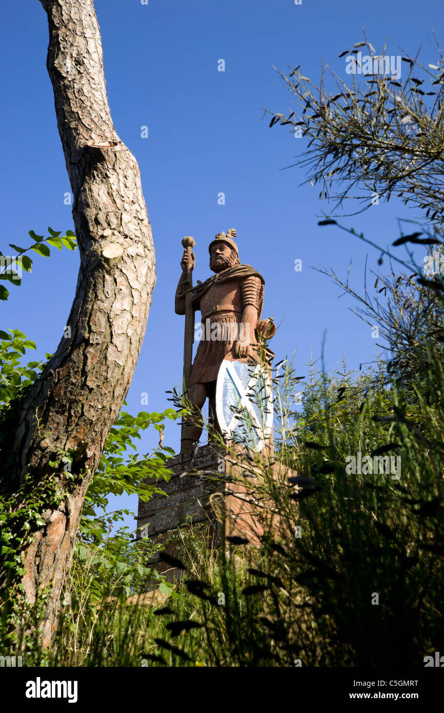 William Wallace statue - Stock Image