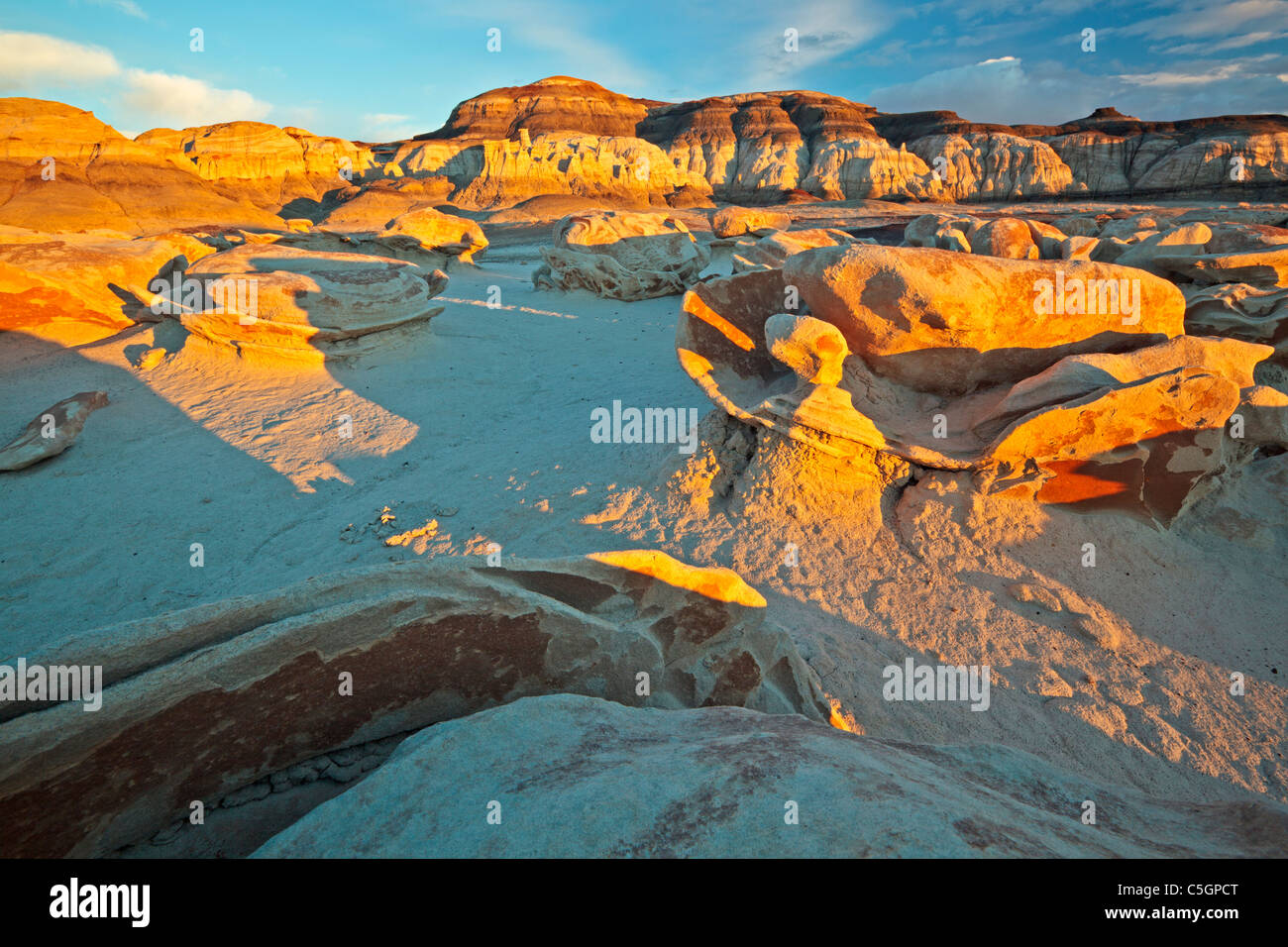 Bisti & De Na Zin Wilderness, New Mexico, USA - Stock Image