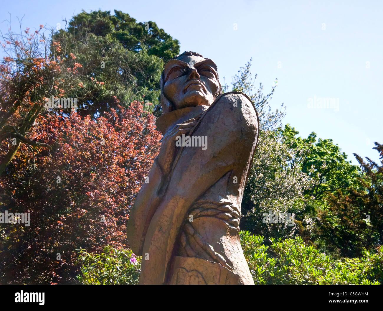 Duns park bronze sculpture - Stock Image