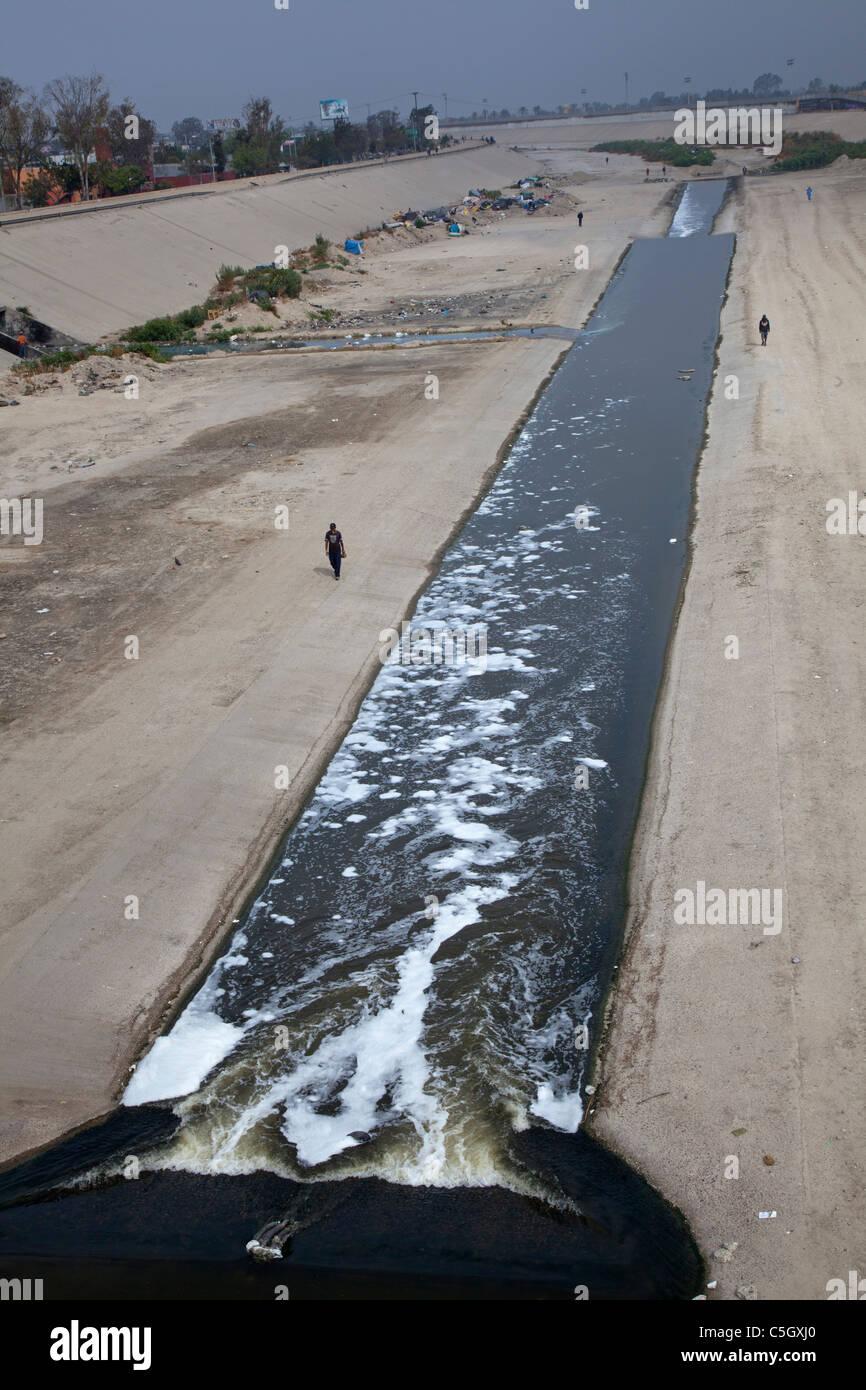 Tijuana River - Stock Image