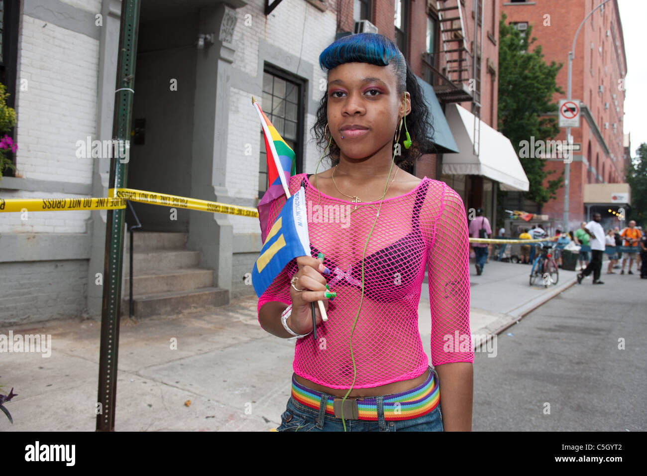from Jessie black gay pride nyc 2009