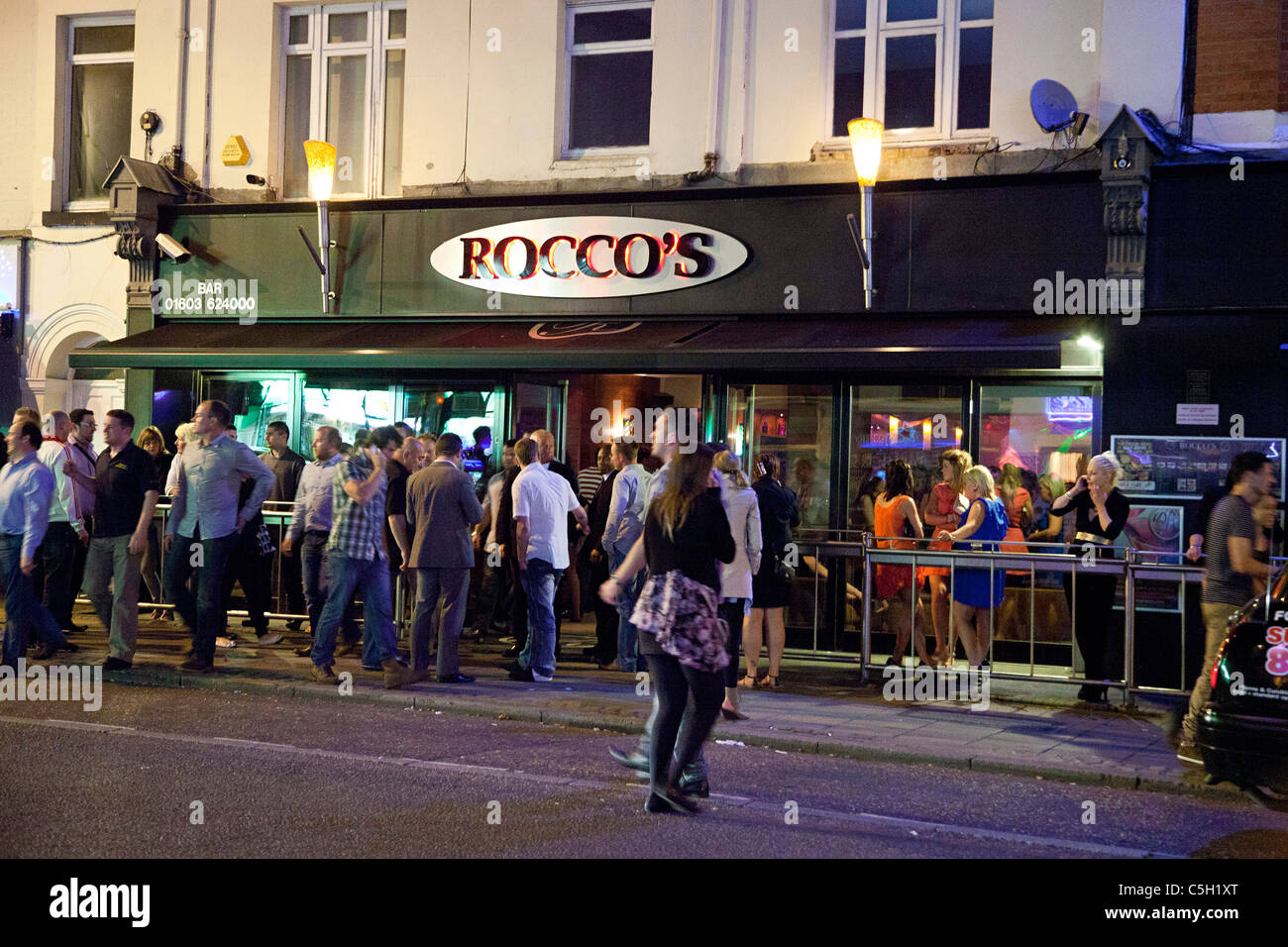 Exterior of a gay bar and nightclub