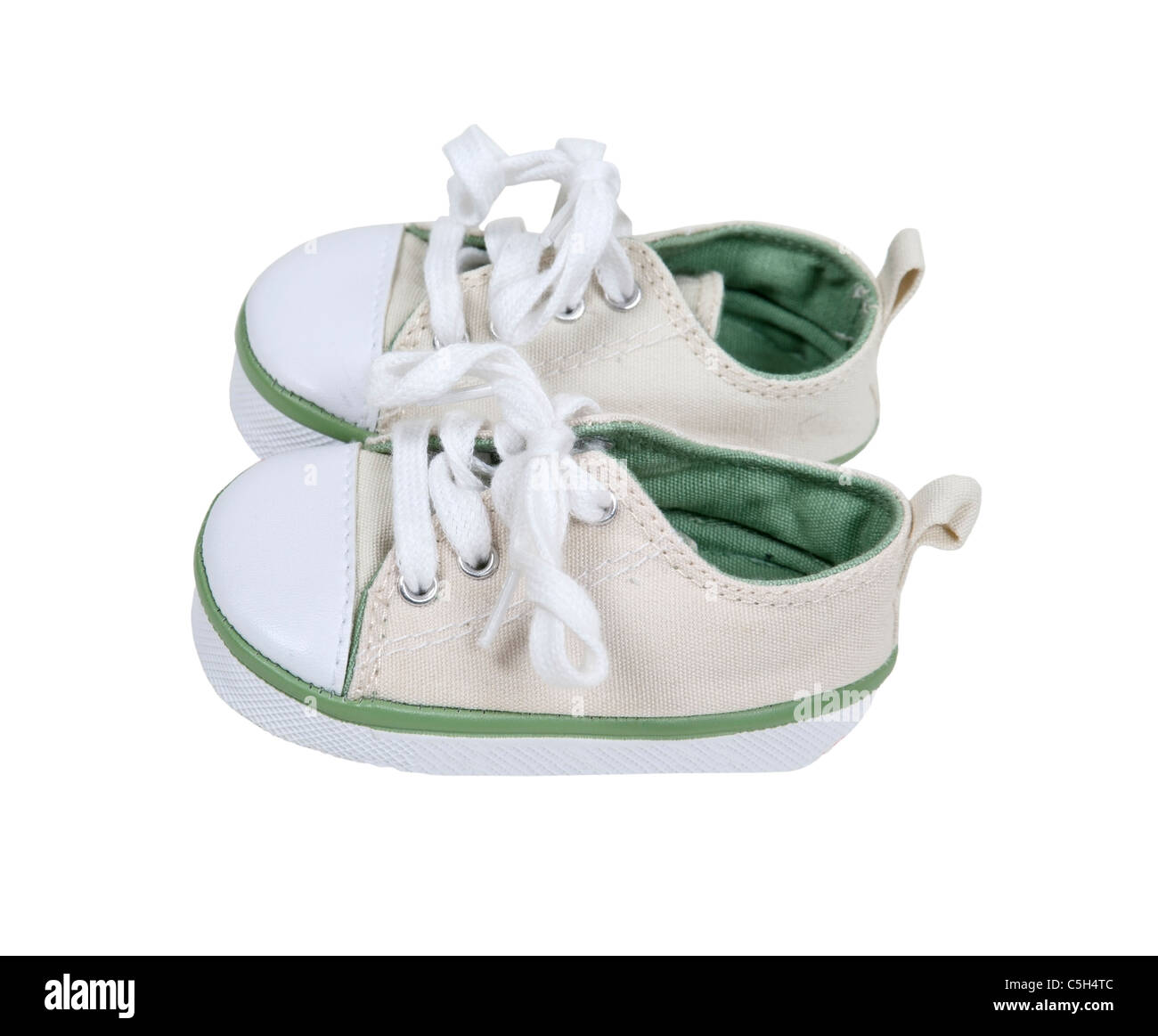 Baby canvas shoes for protecting little