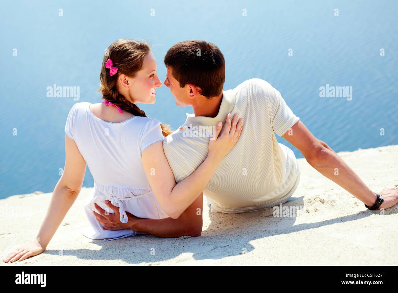 Romantic vacation - Stock Image