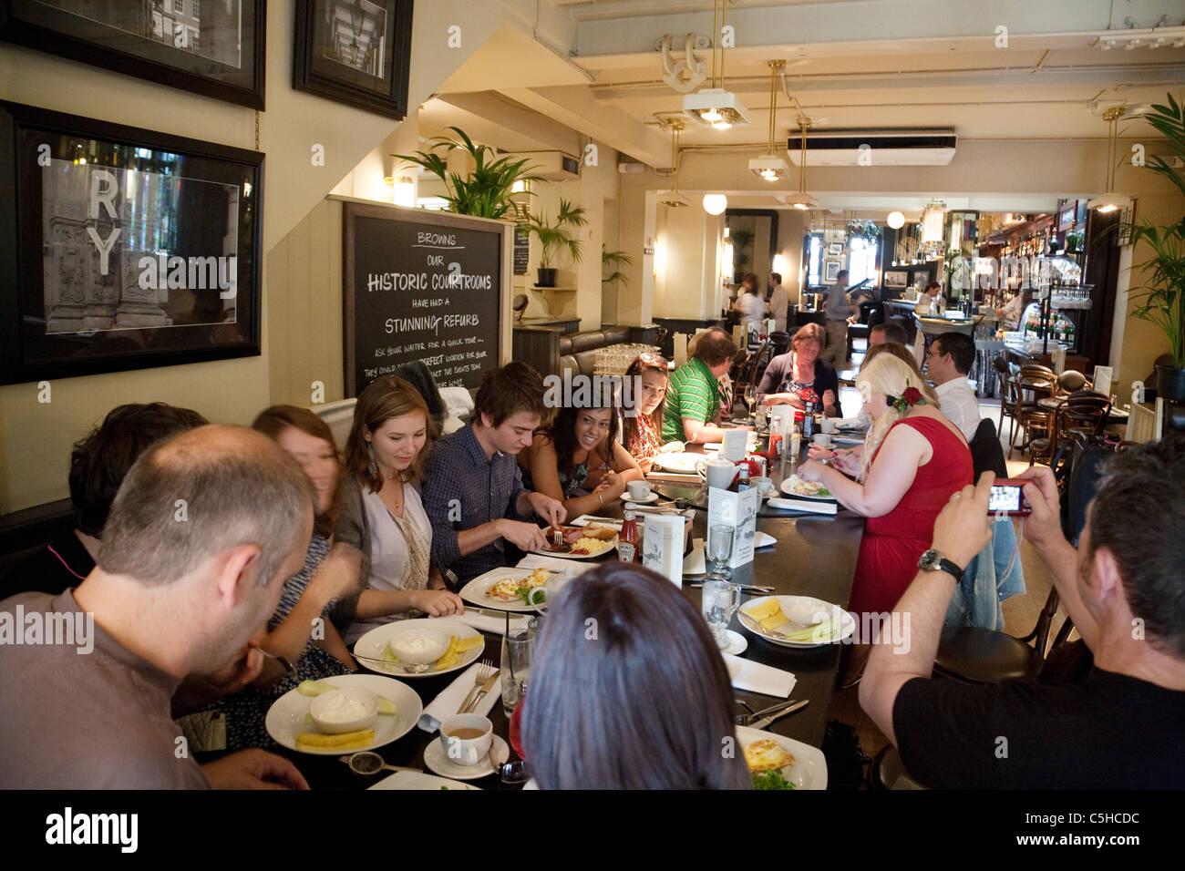 Browns Italian Restaurant Covent Gardens