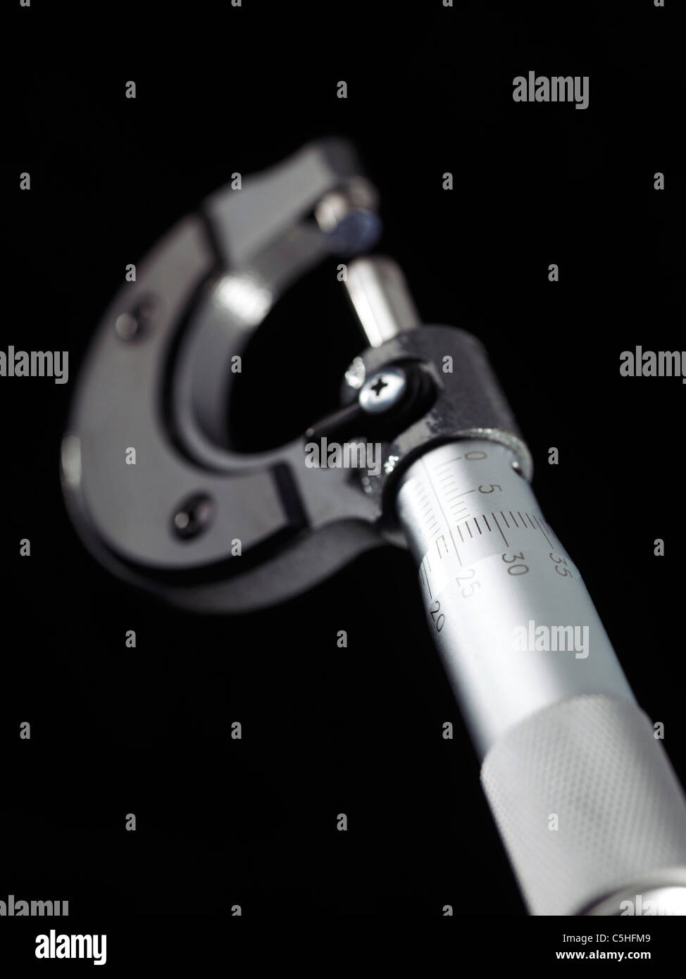 External micrometer - Stock Image