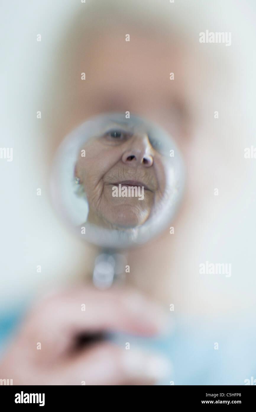 Failing eyesight, conceptual image - Stock Image