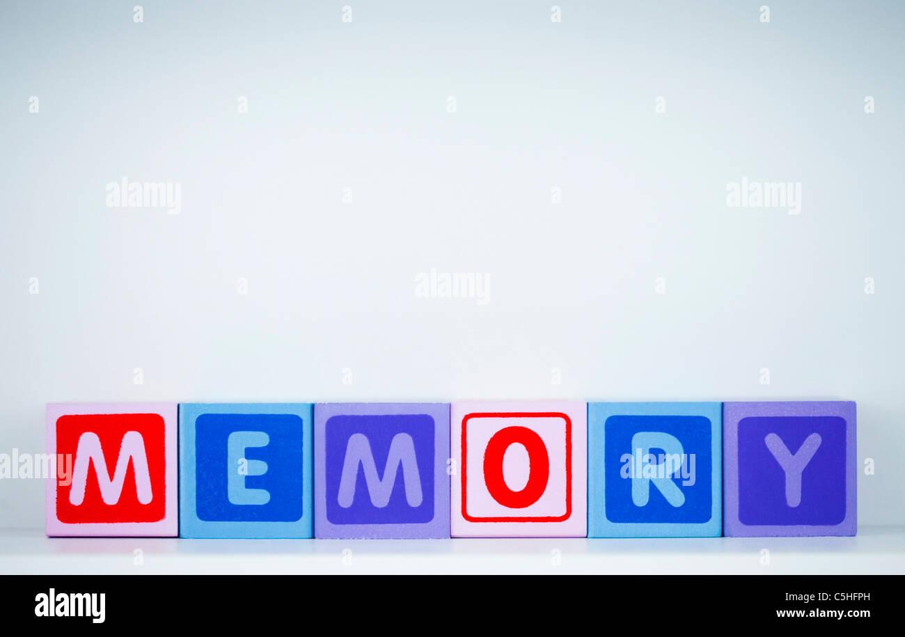 Memory - Stock Image