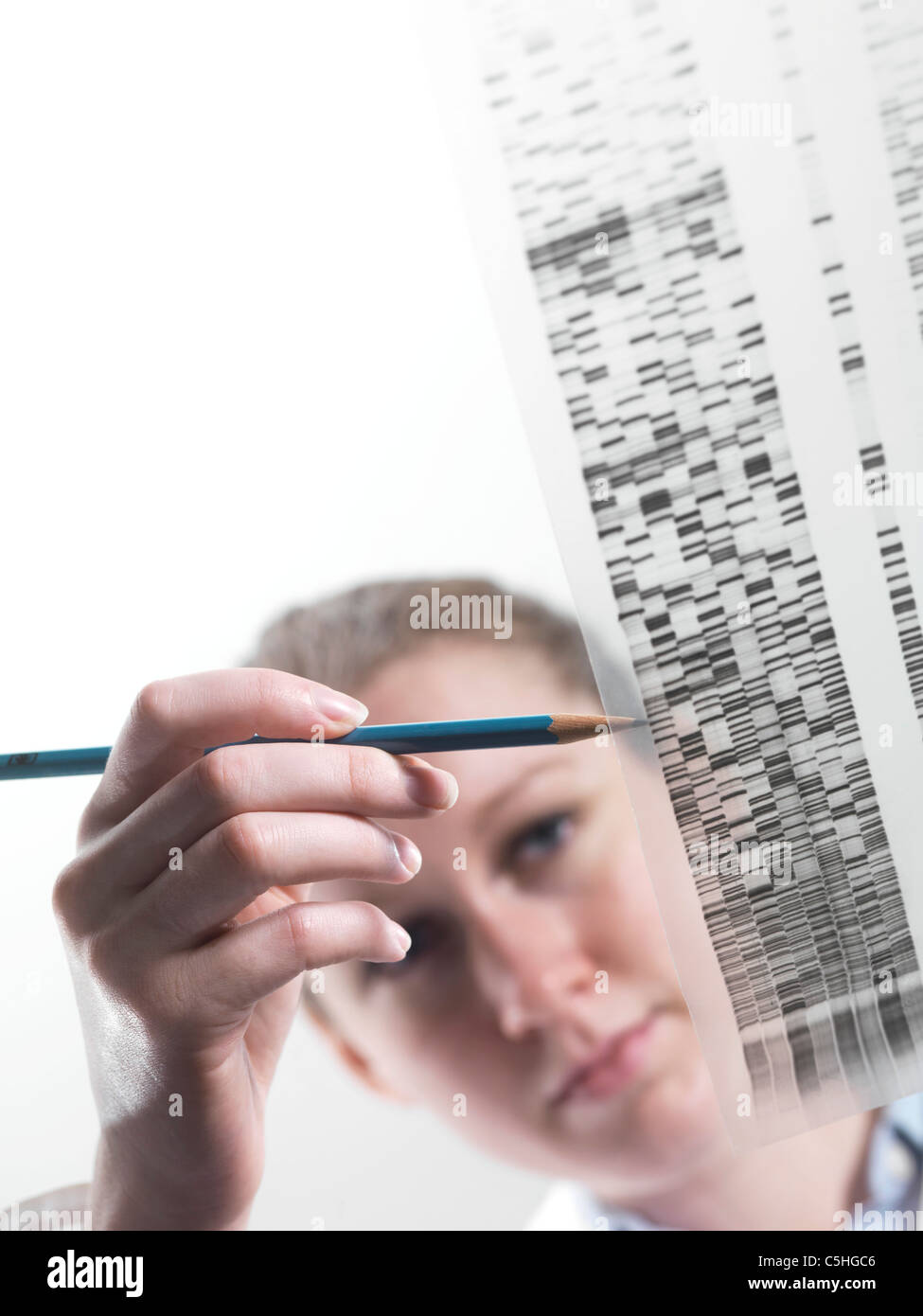Genetics research - Stock Image