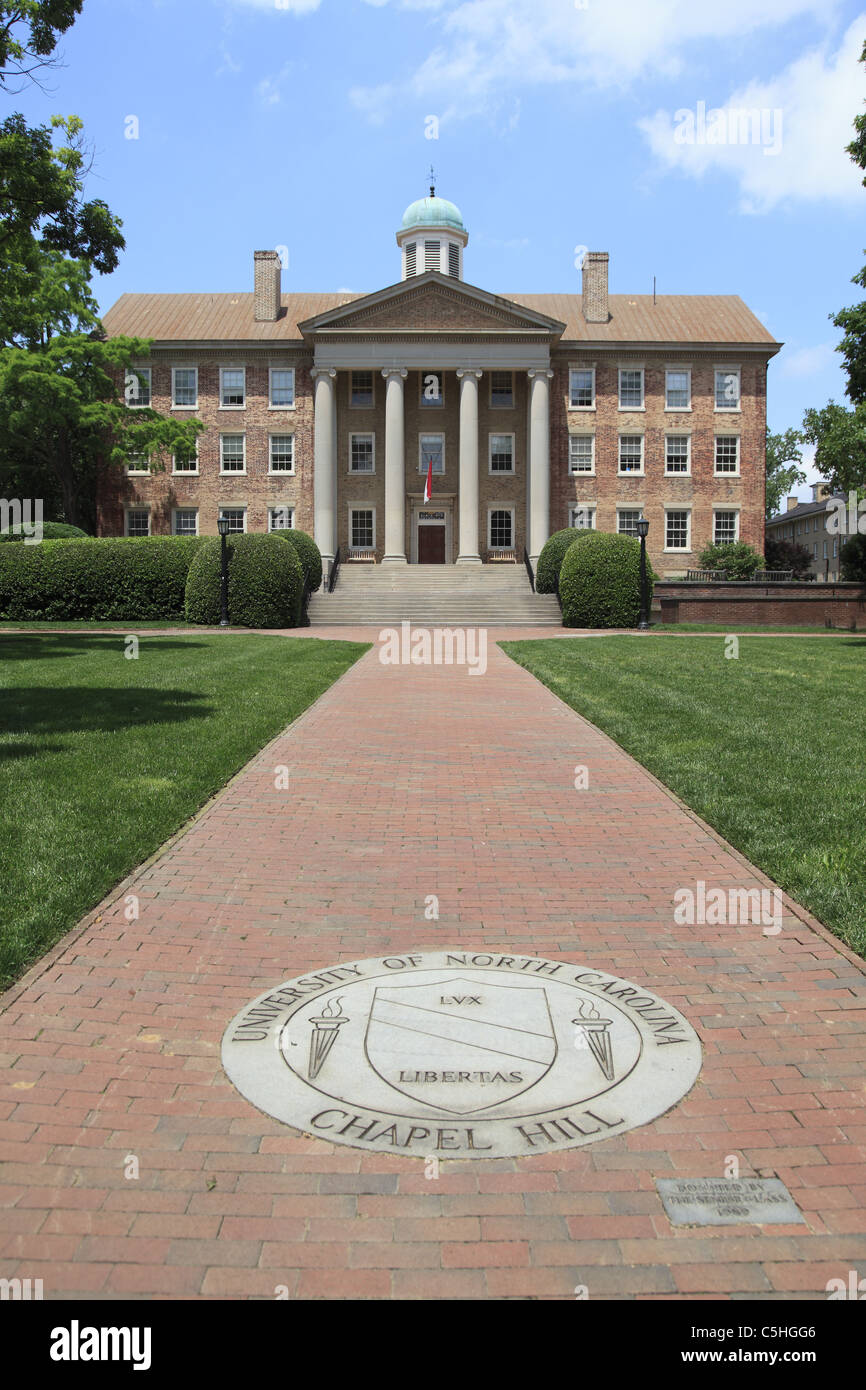 South Building, University of North Carolina, Chapel Hill, USA Stock Photo