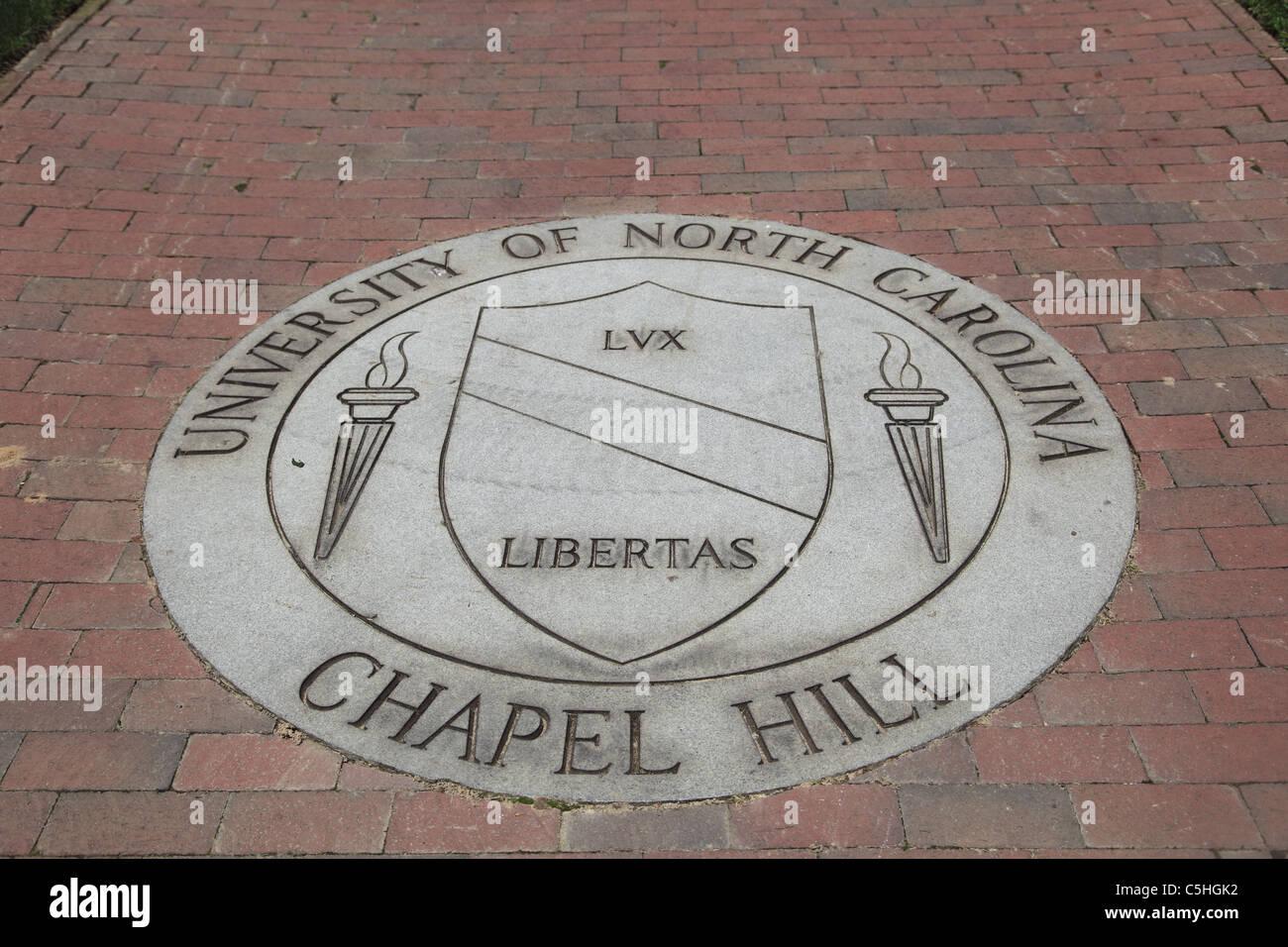 University of North Carolina, Chapel Hill, USA Stock Photo