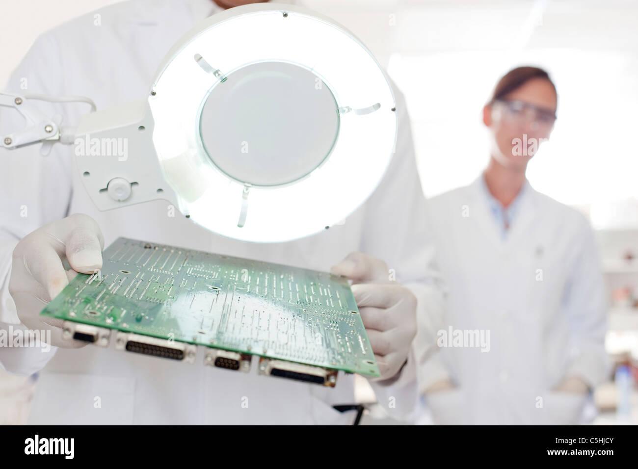 Circuit board manufacture Stock Photo: 37881675 - Alamy