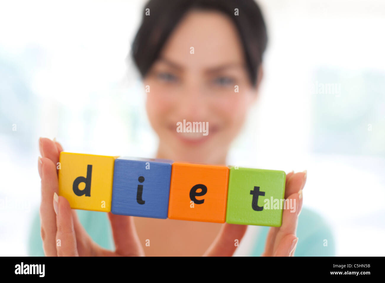 Dieting, conceptual image - Stock Image