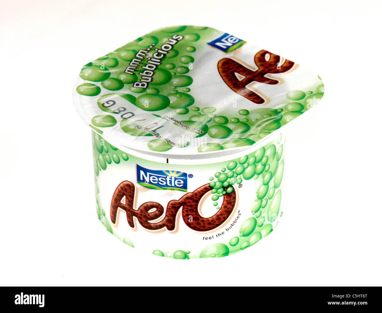 Aero Chocolate Desserts - Stock Image